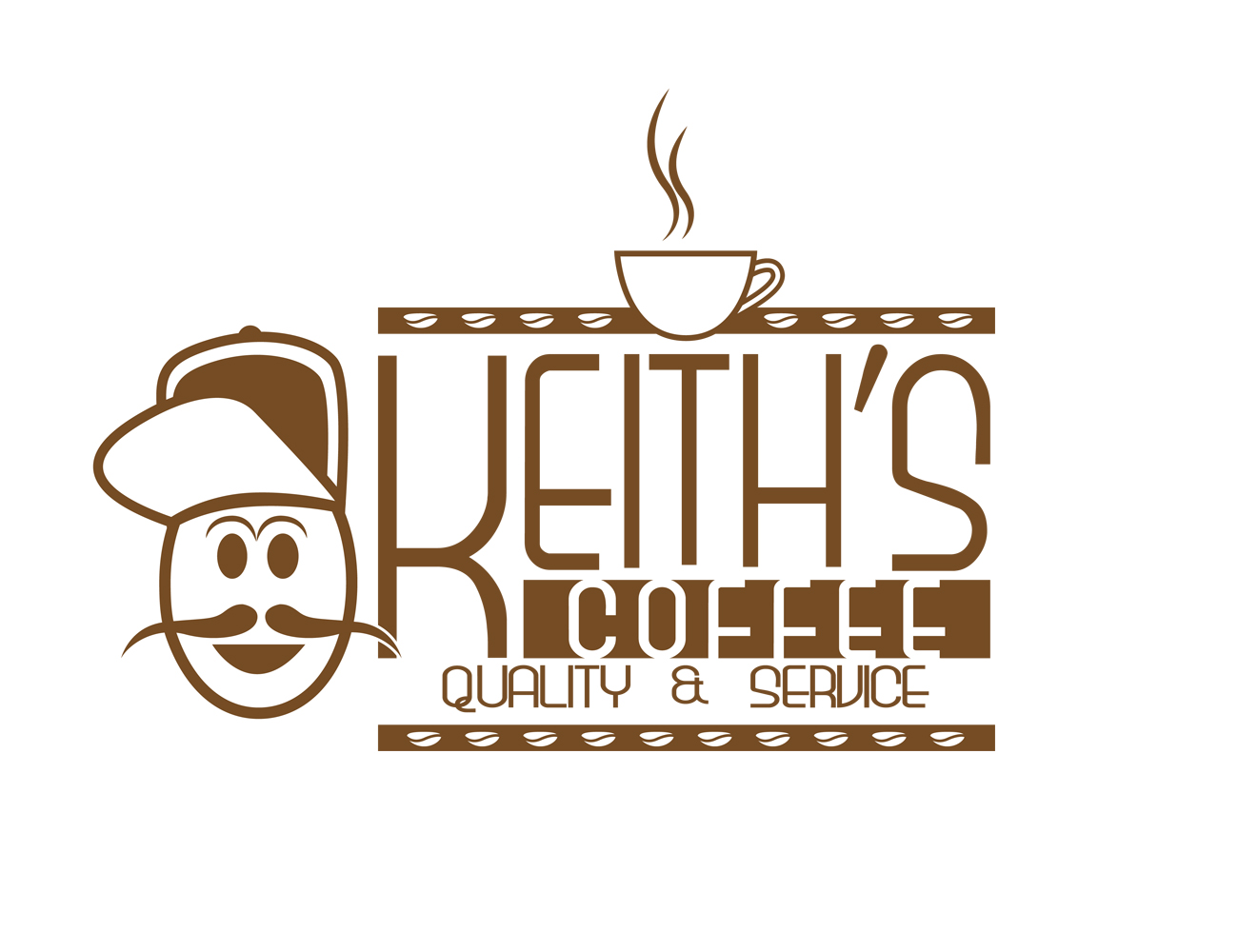 Logo Design by Private User - Entry No. 9 in the Logo Design Contest Keef's coffee Logo Design.