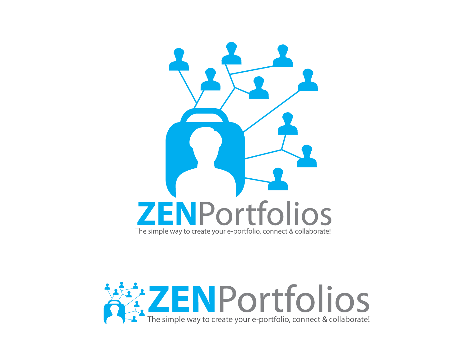 Logo Design by Roy Ferre - Entry No. 125 in the Logo Design Contest New Logo Design for ZEN Portfolios.