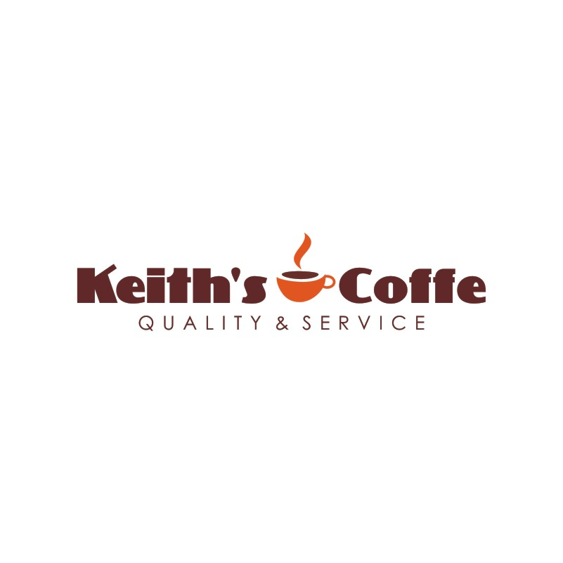 Logo Design by Private User - Entry No. 10 in the Logo Design Contest Keef's coffee Logo Design.