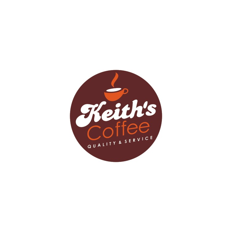 Logo Design by Private User - Entry No. 12 in the Logo Design Contest Keef's coffee Logo Design.