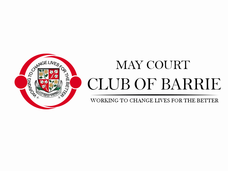 Logo Design by Mythos Designs - Entry No. 108 in the Logo Design Contest New Logo Design for MAY COURT CLUB OF BARRIE.