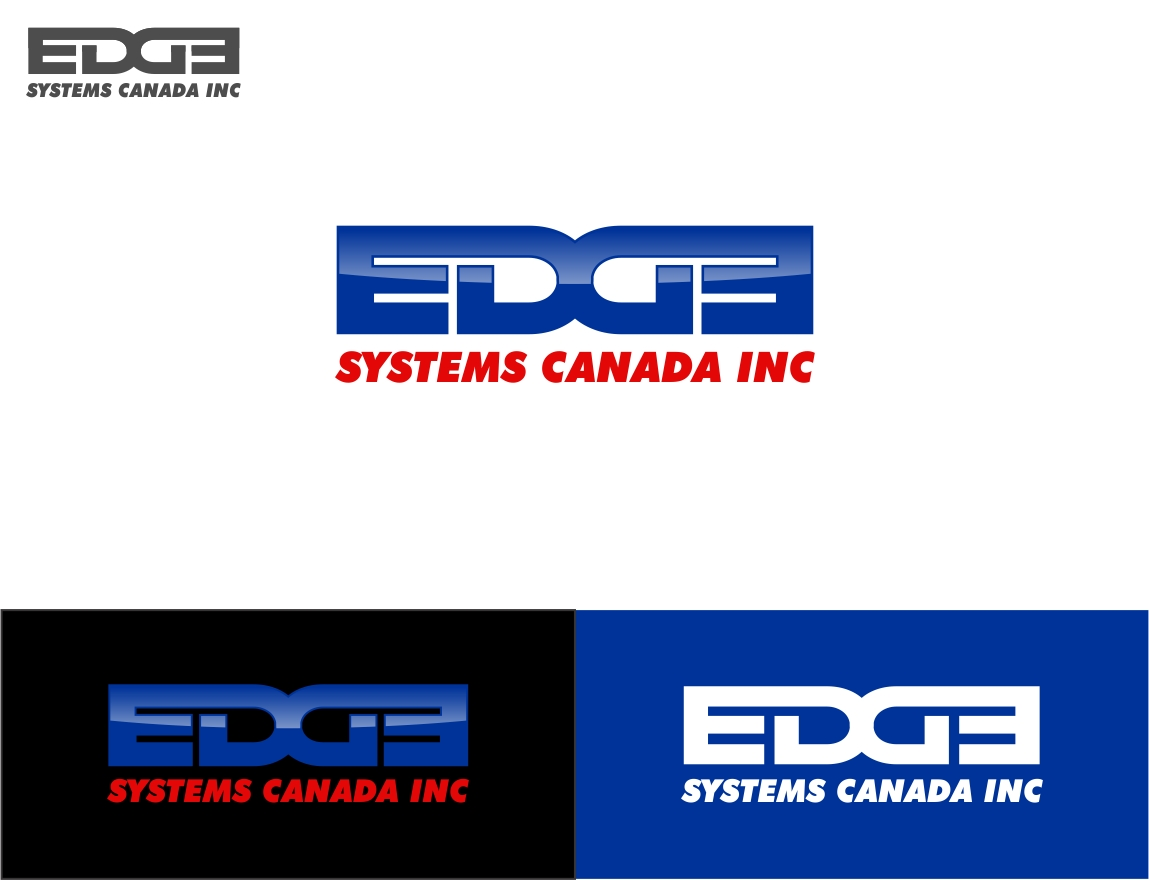Logo Design by haidu - Entry No. 18 in the Logo Design Contest New Logo Design for Edge Systems Canada Inc.
