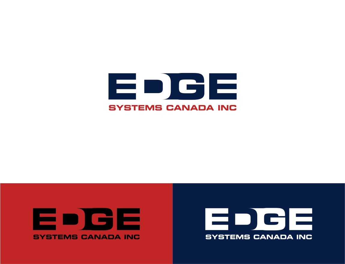 Logo Design by haidu - Entry No. 19 in the Logo Design Contest New Logo Design for Edge Systems Canada Inc.