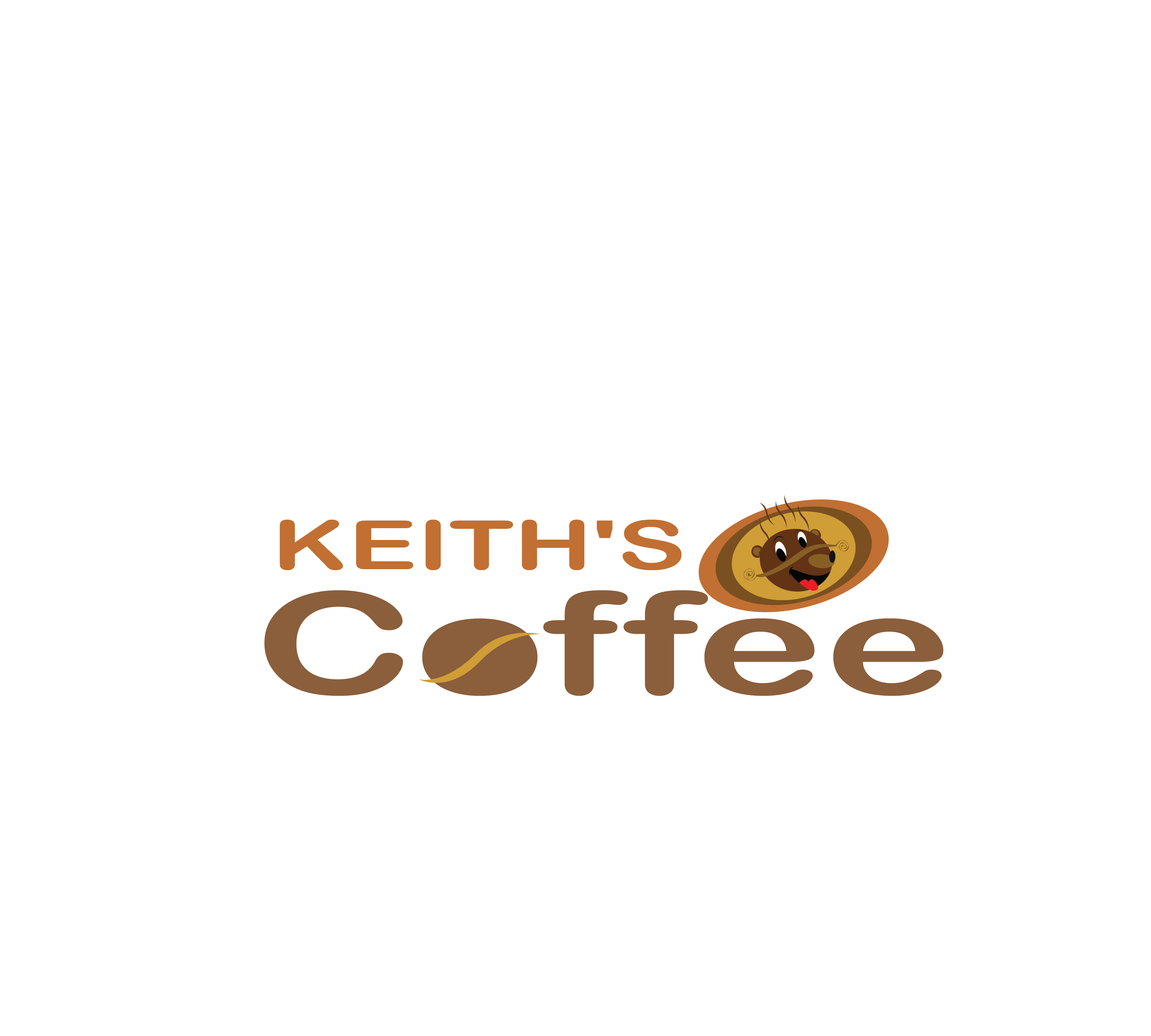 Logo Design by 3draw - Entry No. 14 in the Logo Design Contest Keef's coffee Logo Design.