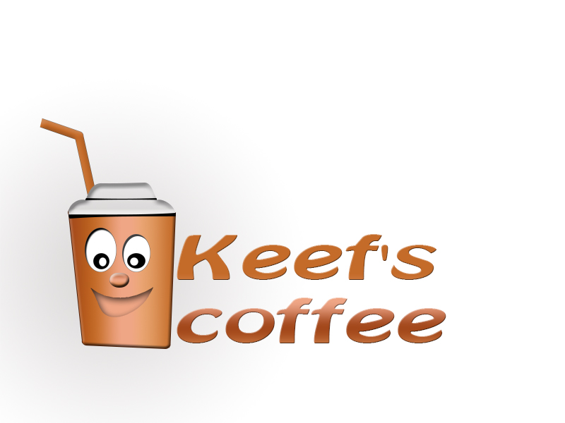 Logo Design by Mythos Designs - Entry No. 16 in the Logo Design Contest Keef's coffee Logo Design.