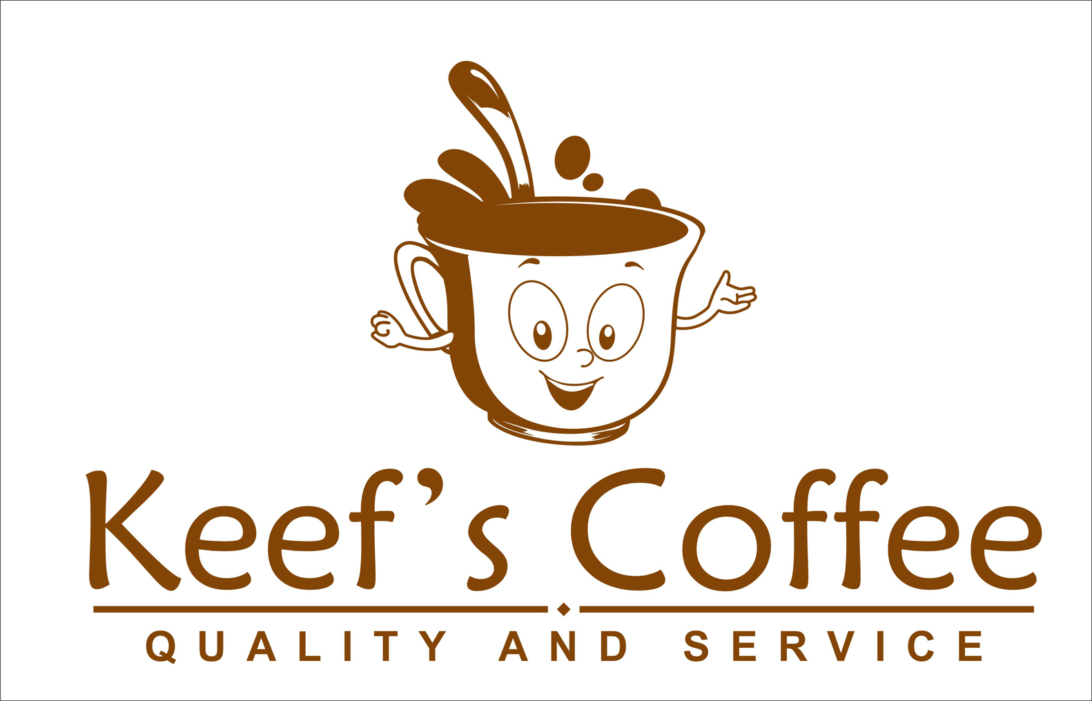 Logo Design by Private User - Entry No. 18 in the Logo Design Contest Keef's coffee Logo Design.