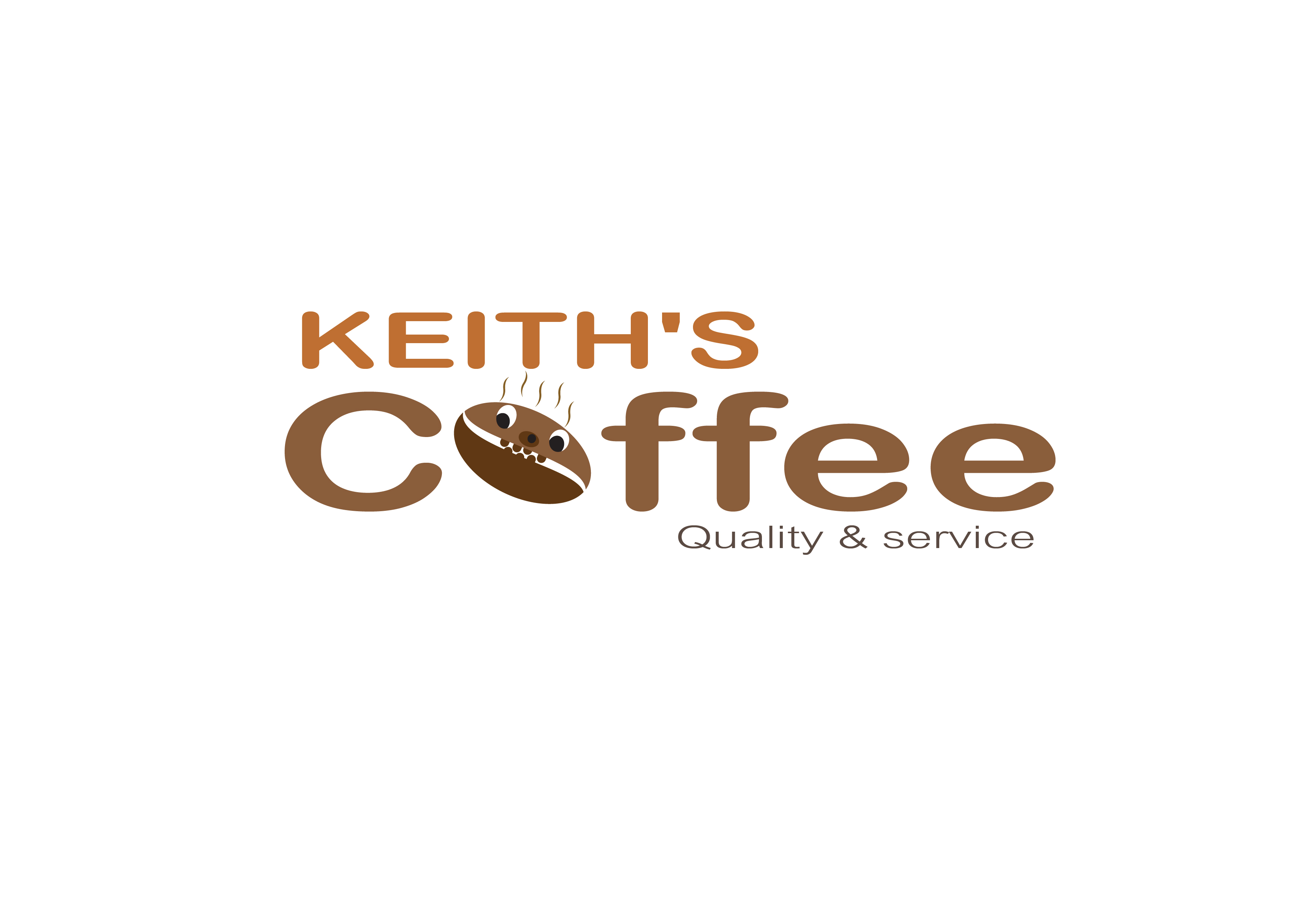 Logo Design by 3draw - Entry No. 20 in the Logo Design Contest Keef's coffee Logo Design.