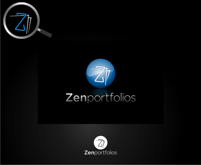 Logo Design by graphicleaf - Entry No. 129 in the Logo Design Contest New Logo Design for ZEN Portfolios.