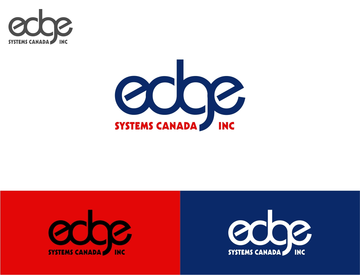 Logo Design by haidu - Entry No. 21 in the Logo Design Contest New Logo Design for Edge Systems Canada Inc.