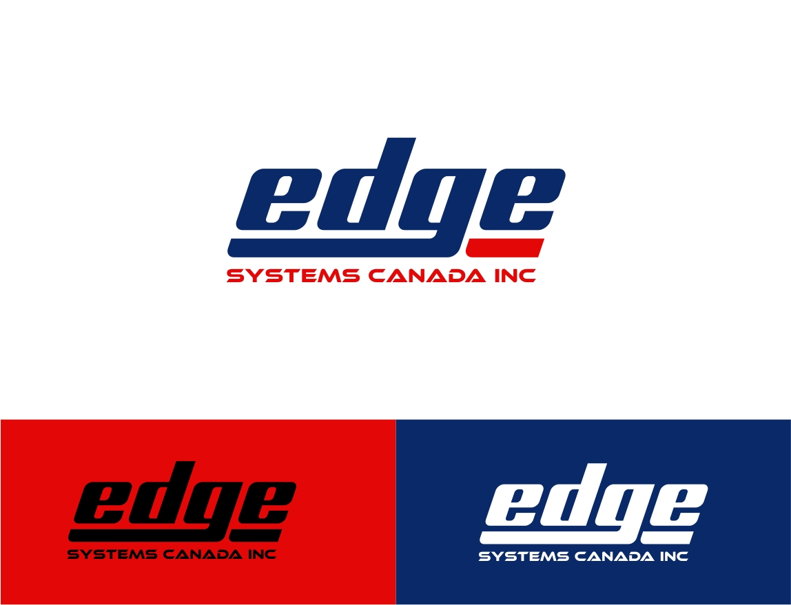Logo Design by haidu - Entry No. 22 in the Logo Design Contest New Logo Design for Edge Systems Canada Inc.