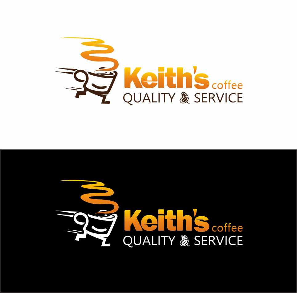 Logo Design by Mitchnick Sunardi - Entry No. 26 in the Logo Design Contest Keef's coffee Logo Design.