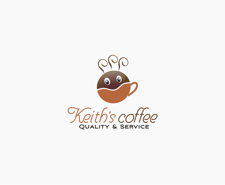 Logo Design by Muhammad Nasrul chasib - Entry No. 30 in the Logo Design Contest Keef's coffee Logo Design.