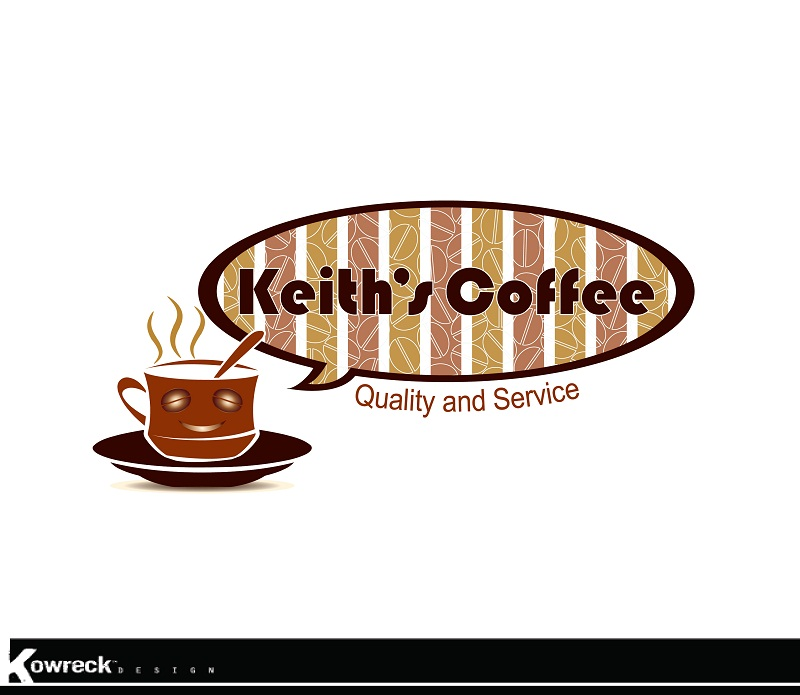 Logo Design by kowreck - Entry No. 31 in the Logo Design Contest Keef's coffee Logo Design.