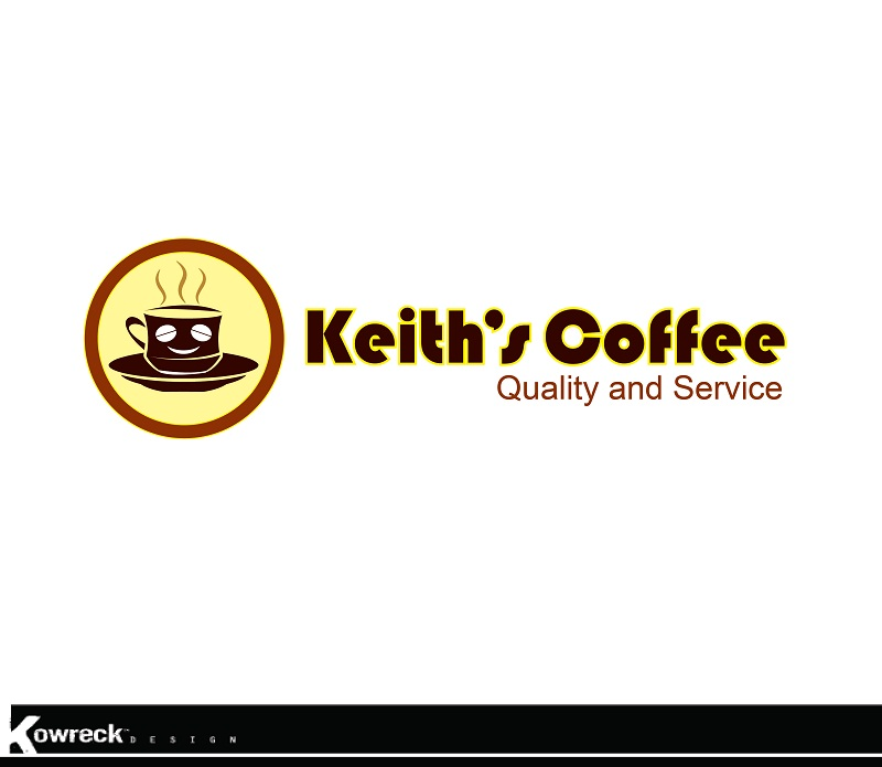 Logo Design by kowreck - Entry No. 32 in the Logo Design Contest Keef's coffee Logo Design.