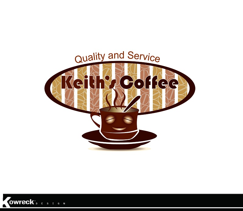 Logo Design by kowreck - Entry No. 33 in the Logo Design Contest Keef's coffee Logo Design.