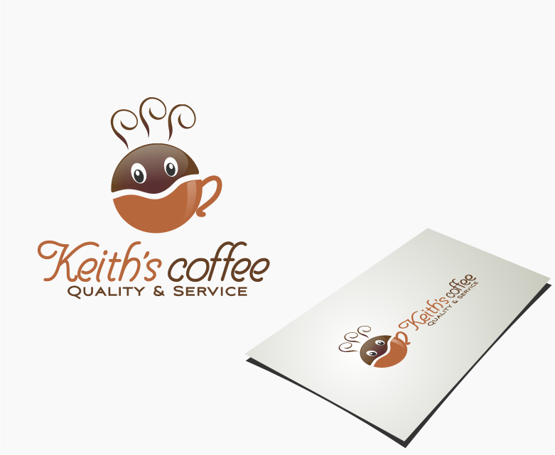 Logo Design by graphicleaf - Entry No. 34 in the Logo Design Contest Keef's coffee Logo Design.