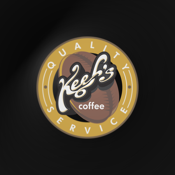 Logo Design by Private User - Entry No. 36 in the Logo Design Contest Keef's coffee Logo Design.