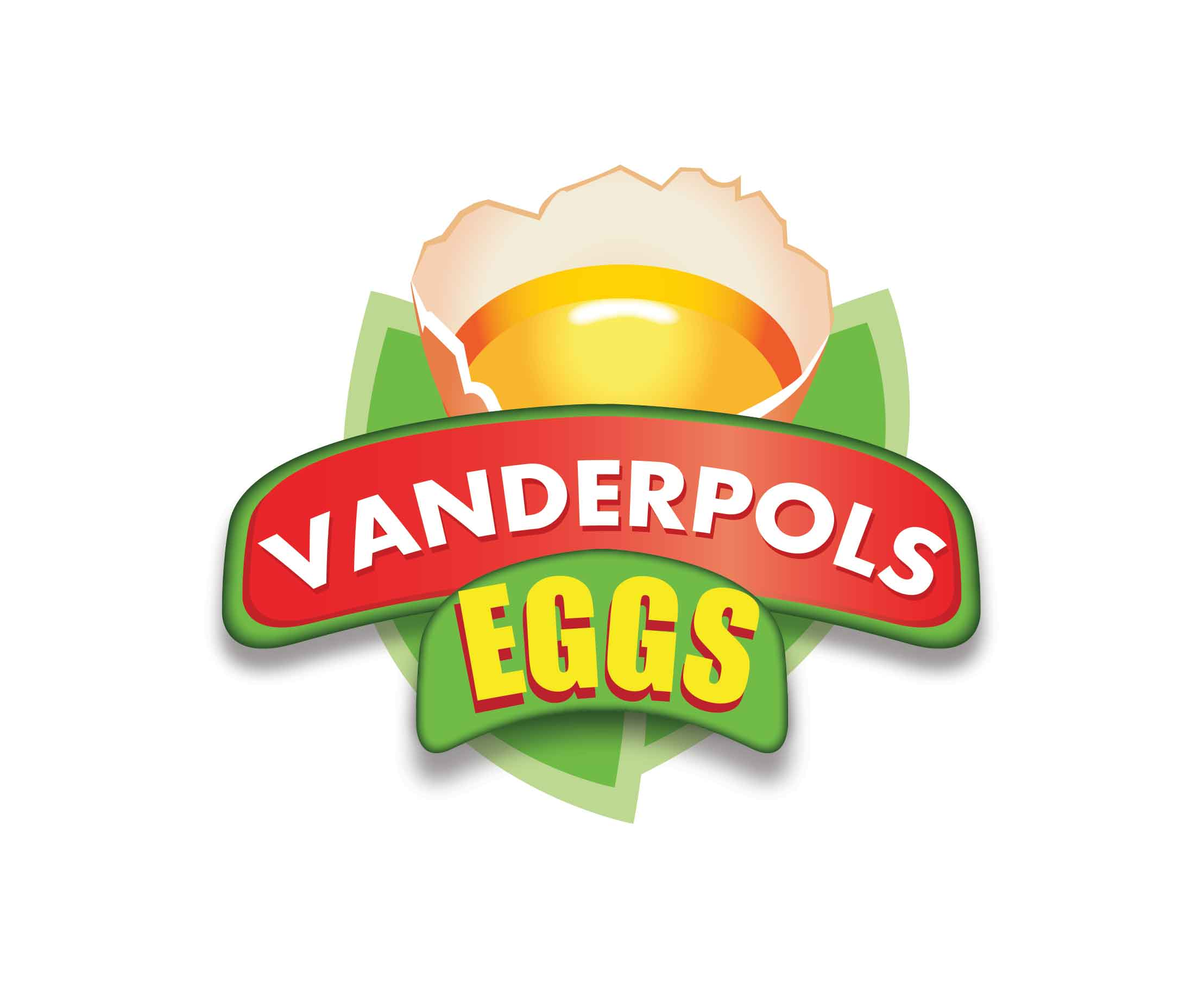 Logo Design by Saleem Ibrahim - Entry No. 6 in the Logo Design Contest Unique Logo Design Wanted for Vanderpols Eggs Ltd.