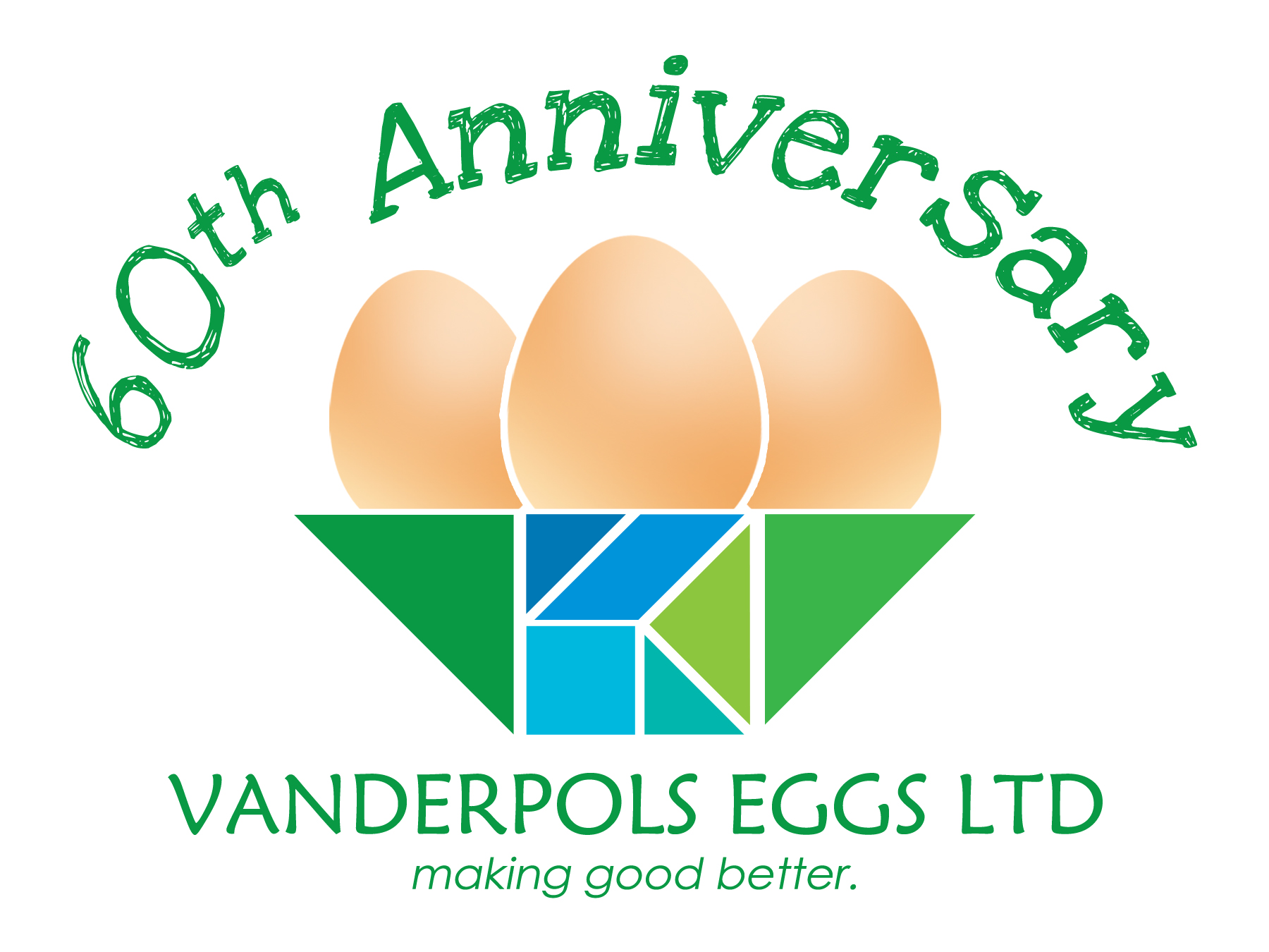 Logo Design by Private User - Entry No. 14 in the Logo Design Contest Unique Logo Design Wanted for Vanderpols Eggs Ltd.