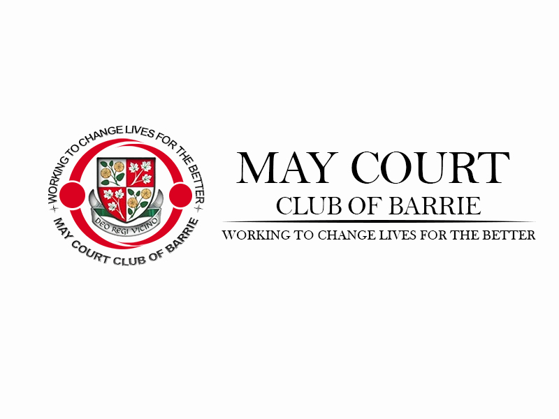 Logo Design by Mythos Designs - Entry No. 123 in the Logo Design Contest New Logo Design for MAY COURT CLUB OF BARRIE.