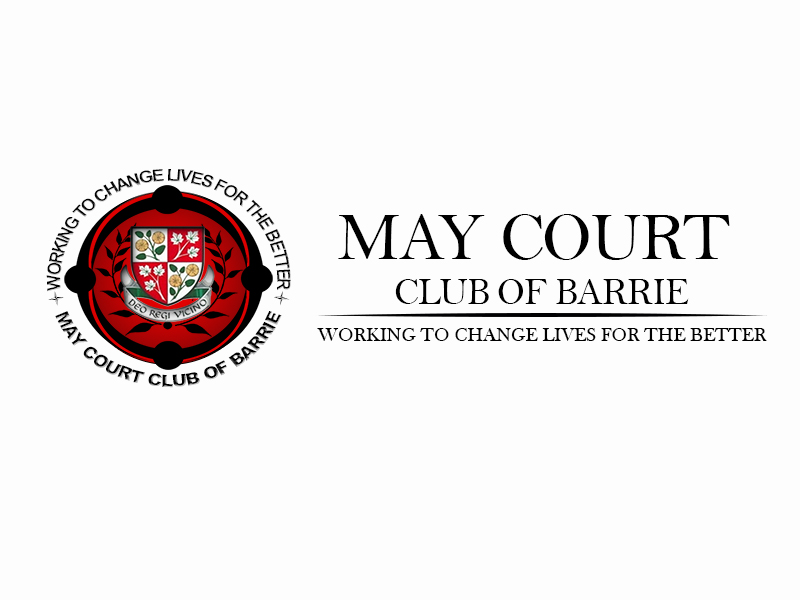 Logo Design by Mythos Designs - Entry No. 124 in the Logo Design Contest New Logo Design for MAY COURT CLUB OF BARRIE.