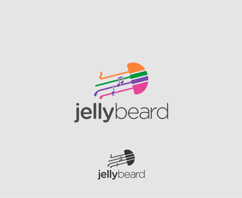 Logo Design by Muhammad Nasrul chasib - Entry No. 51 in the Logo Design Contest jellybeard Logo Design.