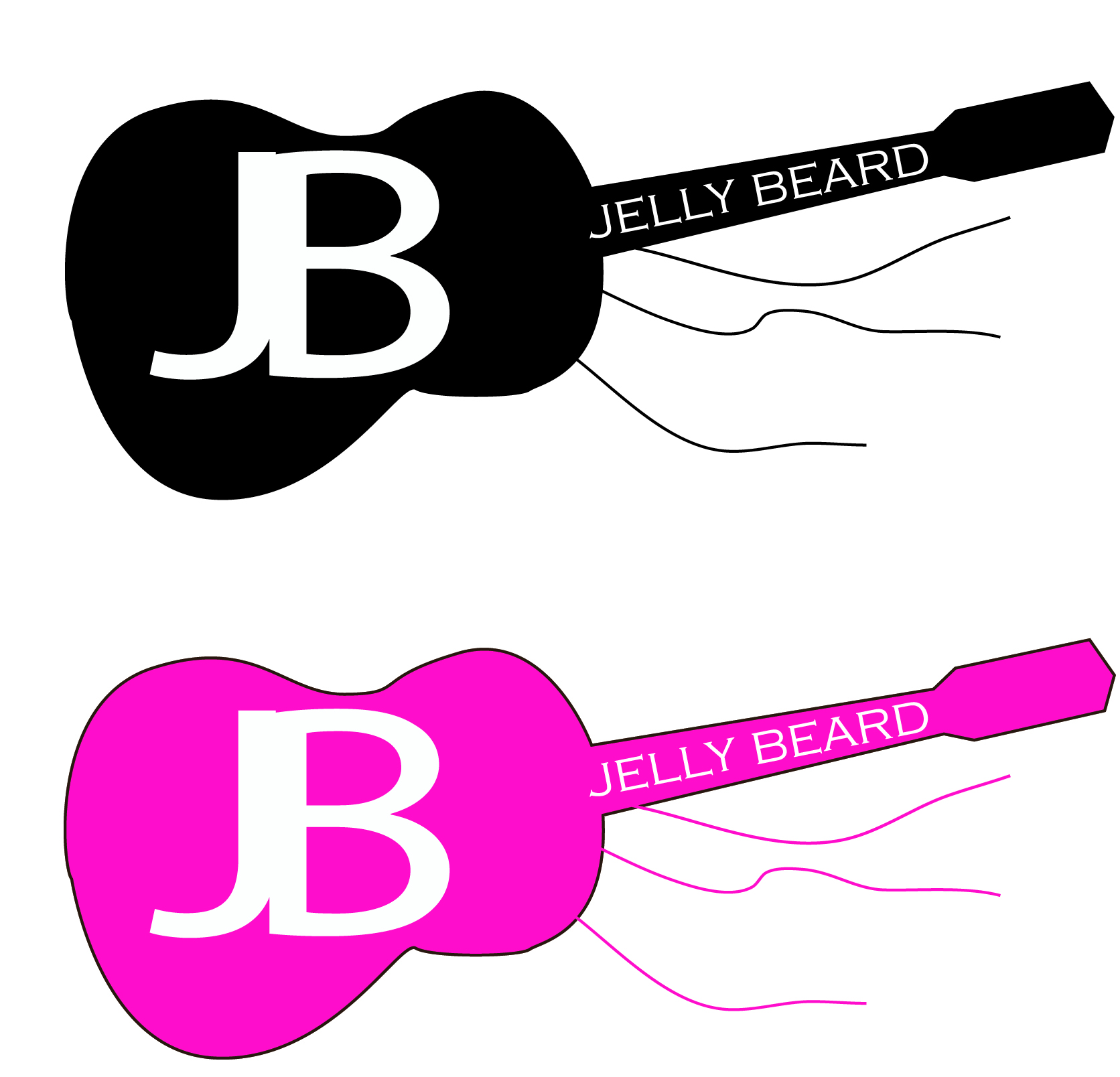 Logo Design by V Anil Yadavv - Entry No. 54 in the Logo Design Contest jellybeard Logo Design.