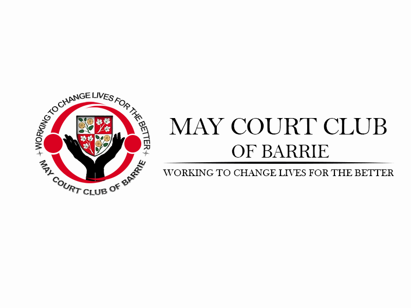 Logo Design by Mythos Designs - Entry No. 125 in the Logo Design Contest New Logo Design for MAY COURT CLUB OF BARRIE.