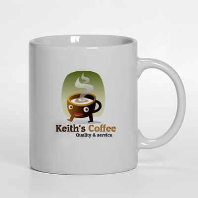 Logo Design by Kathy Harris - Entry No. 38 in the Logo Design Contest Keef's coffee Logo Design.