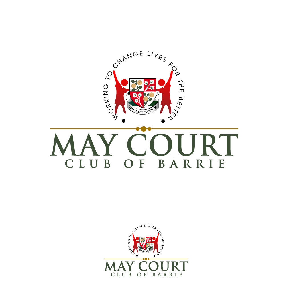 Logo Design by rockin - Entry No. 127 in the Logo Design Contest New Logo Design for MAY COURT CLUB OF BARRIE.