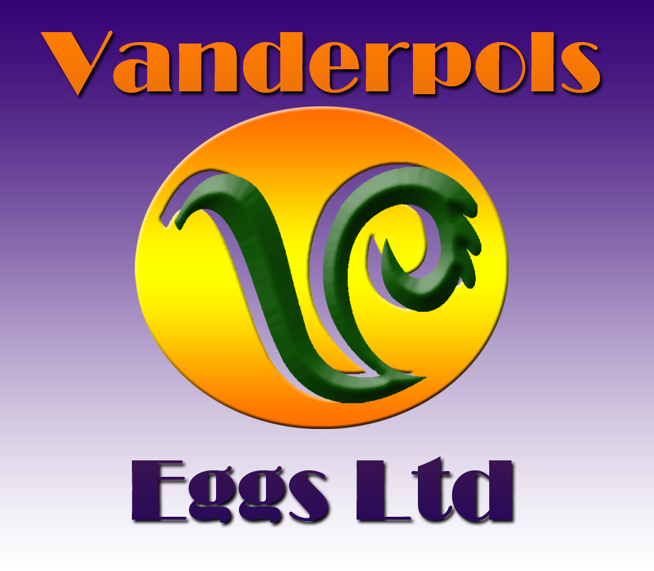 Logo Design by Kitz Clear - Entry No. 16 in the Logo Design Contest Unique Logo Design Wanted for Vanderpols Eggs Ltd.