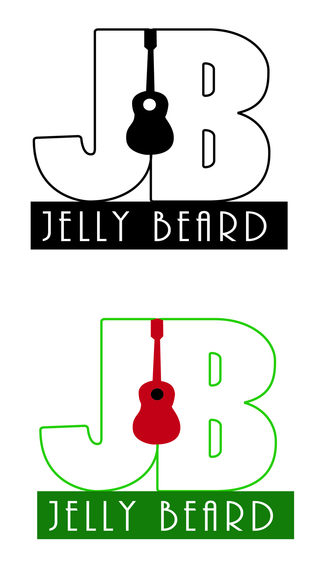 Logo Design by V Anil Yadavv - Entry No. 58 in the Logo Design Contest jellybeard Logo Design.