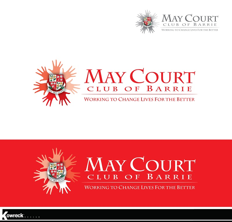Logo Design by kowreck - Entry No. 132 in the Logo Design Contest New Logo Design for MAY COURT CLUB OF BARRIE.