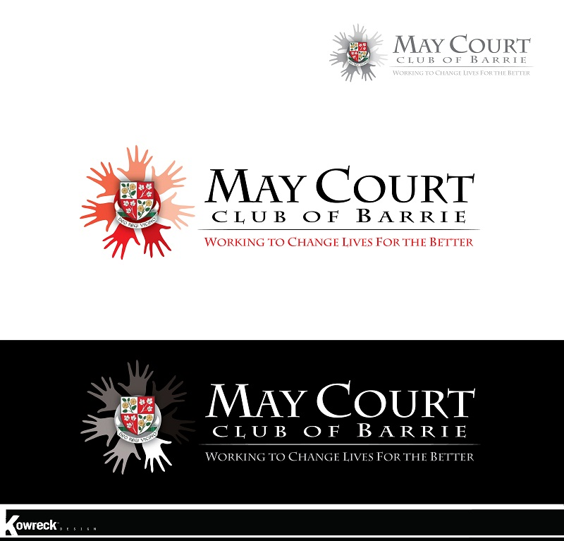 Logo Design by kowreck - Entry No. 139 in the Logo Design Contest New Logo Design for MAY COURT CLUB OF BARRIE.