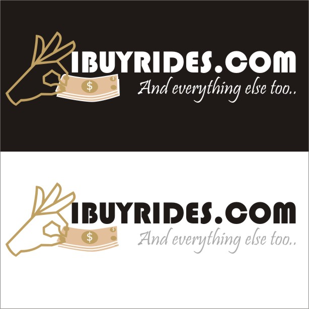 Logo Design by artist23 - Entry No. 3 in the Logo Design Contest IBuyRides.com needs a Cool Country Funny Cartoony Logo.