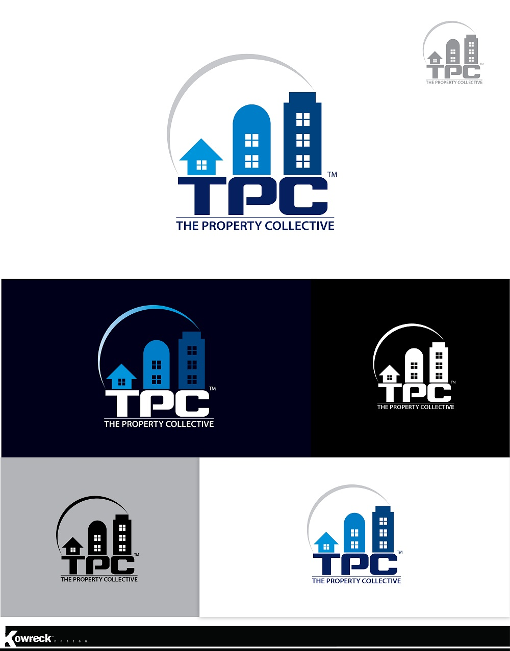 Logo Design by kowreck - Entry No. 39 in the Logo Design Contest Unique Logo Design Wanted for TPC.