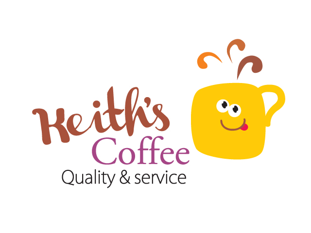 Logo Design by Jelena Kaerner - Entry No. 43 in the Logo Design Contest Keef's coffee Logo Design.