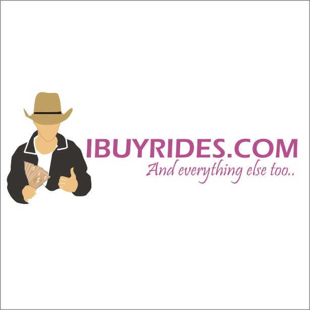 Logo Design by artist23 - Entry No. 4 in the Logo Design Contest IBuyRides.com needs a Cool Country Funny Cartoony Logo.