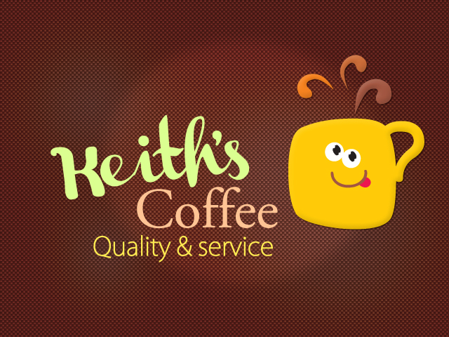 Logo Design by Jelena Kaerner - Entry No. 44 in the Logo Design Contest Keef's coffee Logo Design.