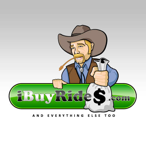 Logo Design by SilverEagle - Entry No. 5 in the Logo Design Contest IBuyRides.com needs a Cool Country Funny Cartoony Logo.