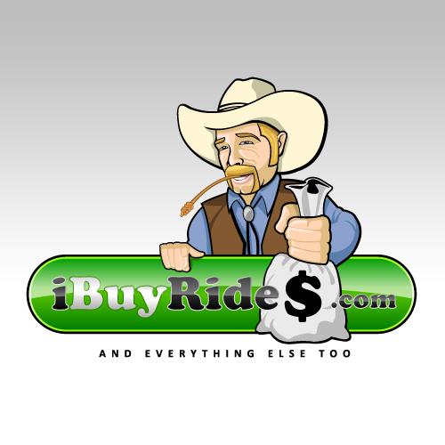 Logo Design by SilverEagle - Entry No. 6 in the Logo Design Contest IBuyRides.com needs a Cool Country Funny Cartoony Logo.