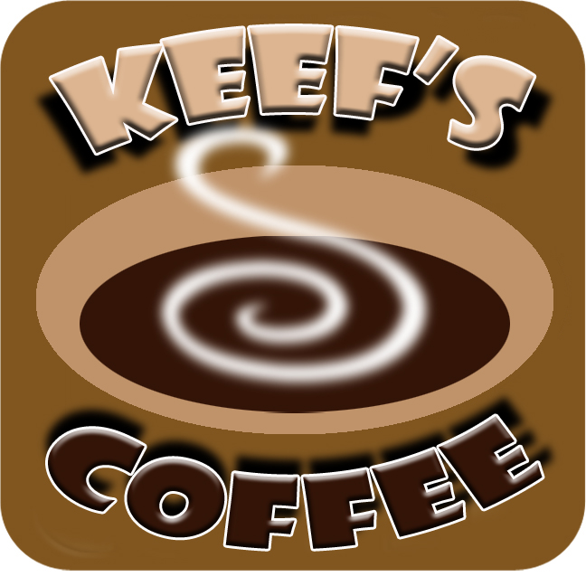 Logo Design by Kitz Clear - Entry No. 46 in the Logo Design Contest Keef's coffee Logo Design.