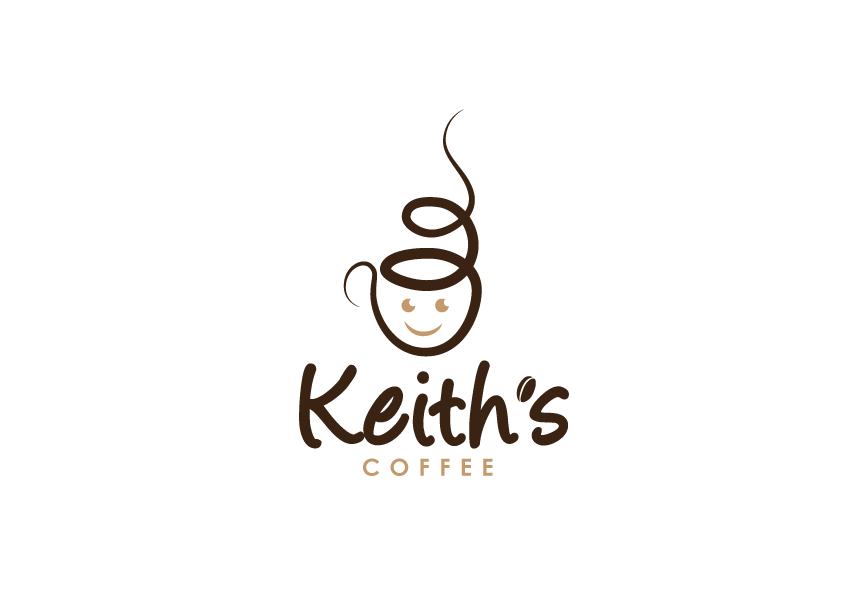 Logo Design by Severiano Fernandes - Entry No. 47 in the Logo Design Contest Keef's coffee Logo Design.
