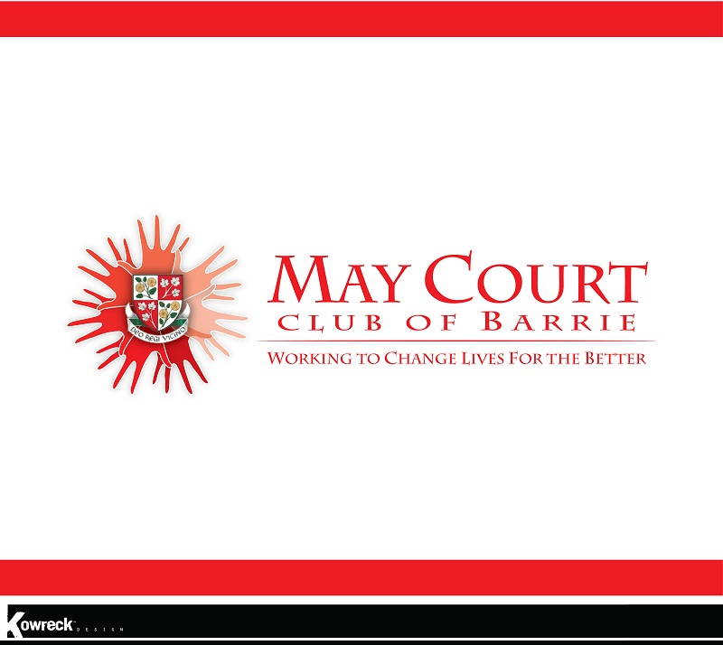 Logo Design by kowreck - Entry No. 148 in the Logo Design Contest New Logo Design for MAY COURT CLUB OF BARRIE.