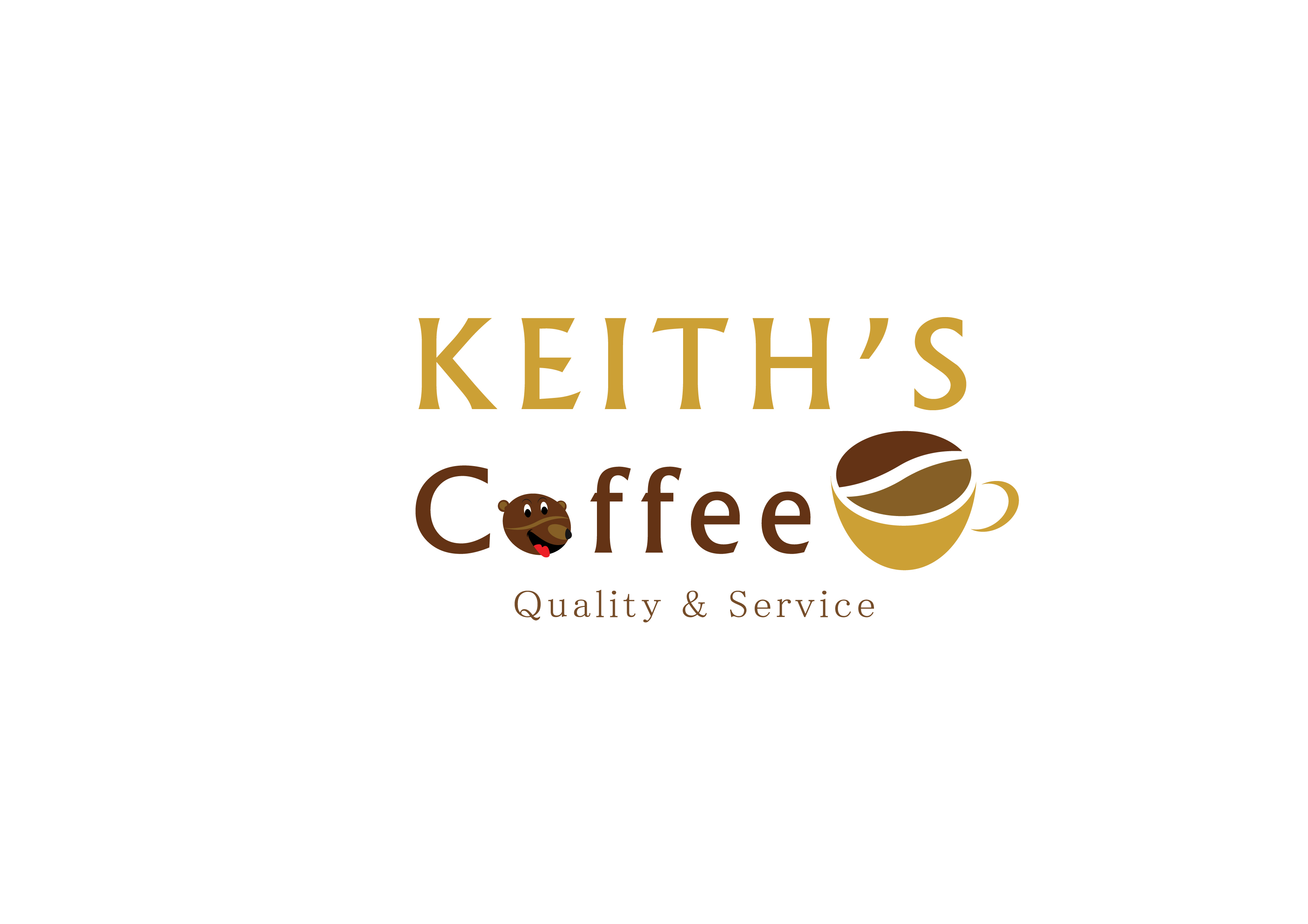 Logo Design by 3draw - Entry No. 53 in the Logo Design Contest Keef's coffee Logo Design.