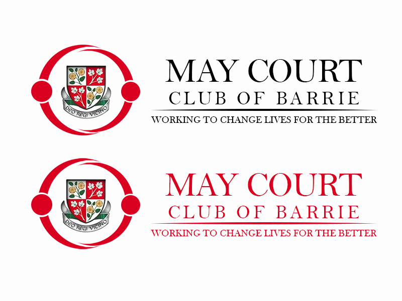 Logo Design by Mythos Designs - Entry No. 167 in the Logo Design Contest New Logo Design for MAY COURT CLUB OF BARRIE.