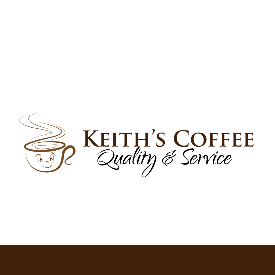 Logo Design by Edward Goodwin - Entry No. 55 in the Logo Design Contest Keef's coffee Logo Design.