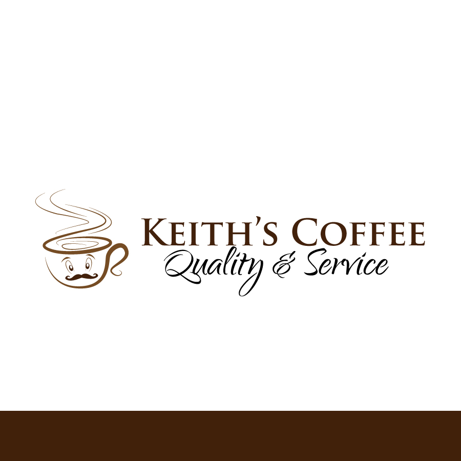 Logo Design by Edward Goodwin - Entry No. 57 in the Logo Design Contest Keef's coffee Logo Design.