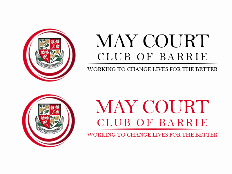 Logo Design by Mythos Designs - Entry No. 168 in the Logo Design Contest New Logo Design for MAY COURT CLUB OF BARRIE.