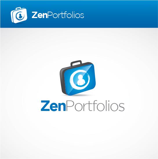 Logo Design by Private User - Entry No. 143 in the Logo Design Contest New Logo Design for ZEN Portfolios.